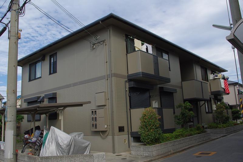 尼崎市南武庫之荘(阪急神戸線武庫之荘)の賃貸物件外観写真